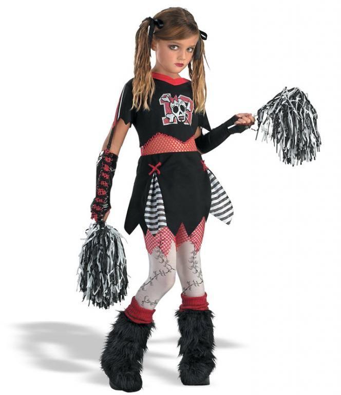 Goth Cheerleader Costume,$48.99 | Costumes | Pinterest ...