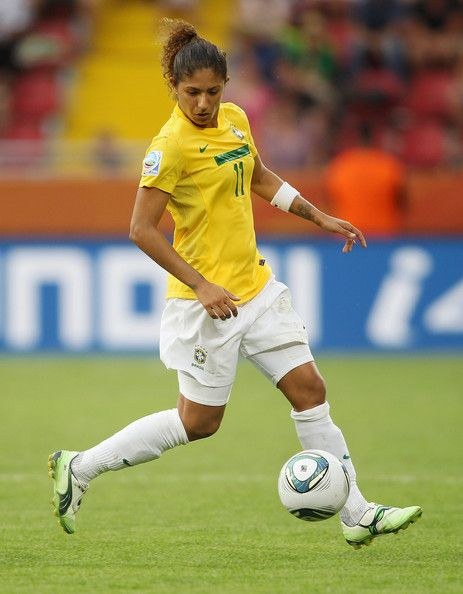 My favourite footballer, Cristiane. <3