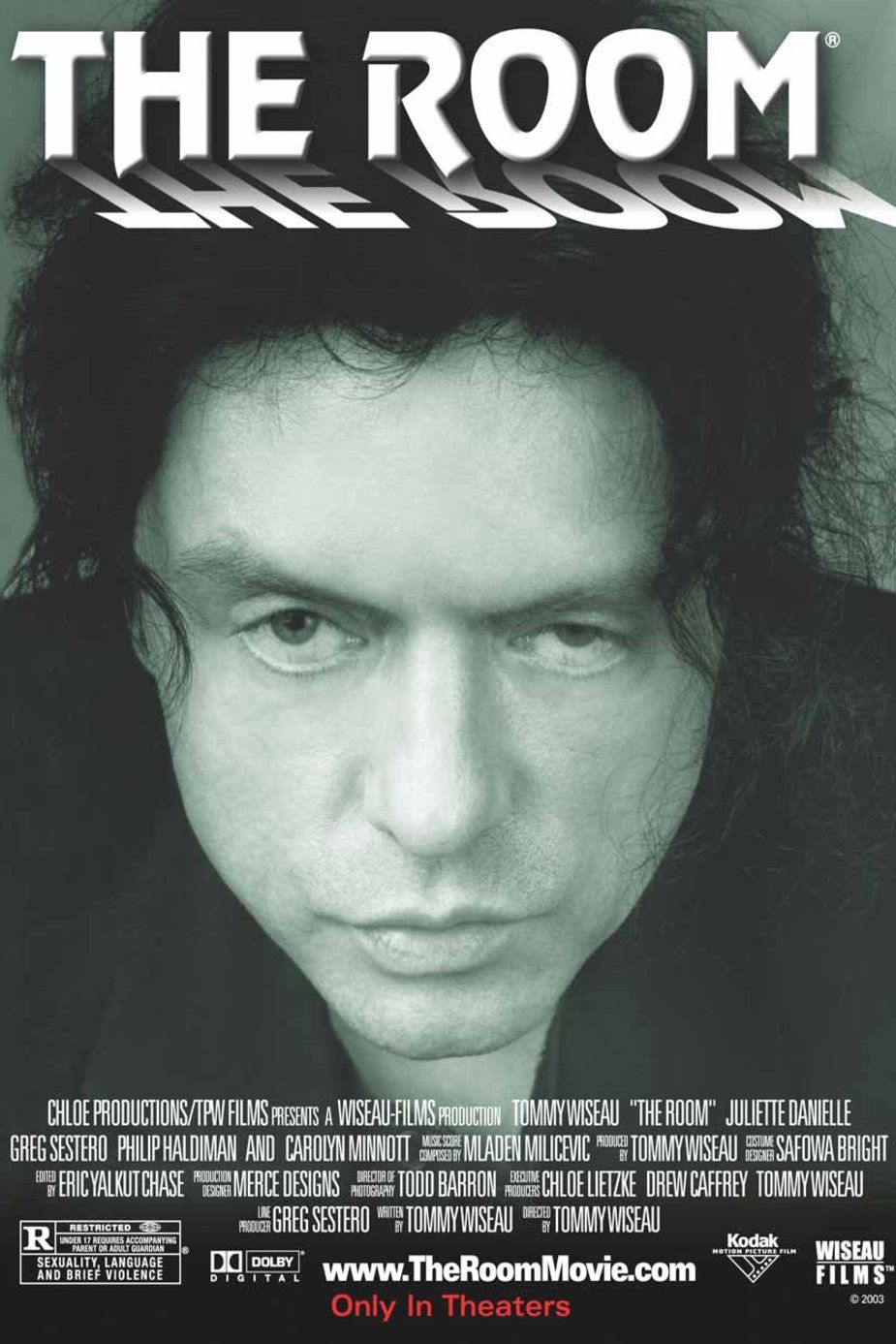 瘟室 (THE ROOM) The room film, The room tommy, The room 2003
