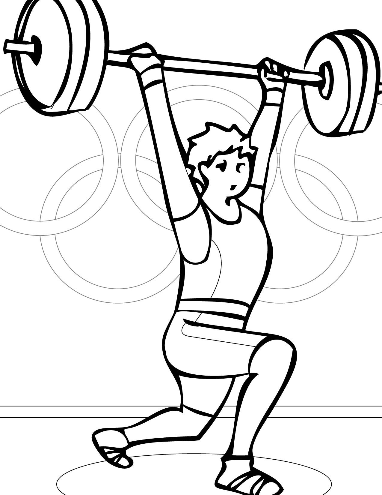 olympic sports coloring pages google