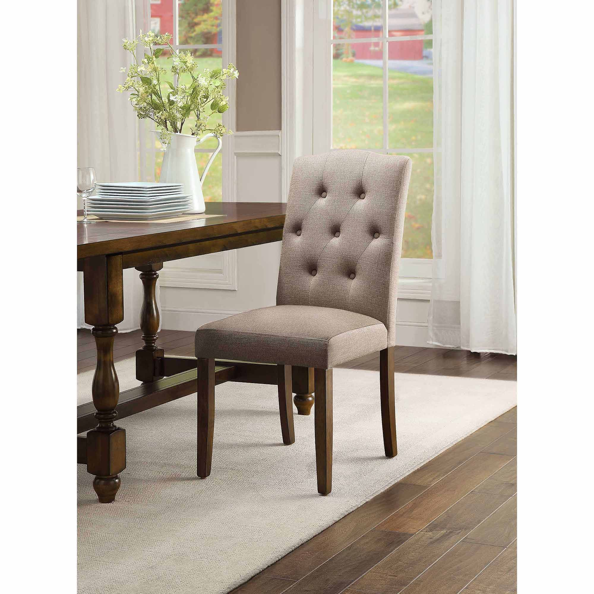Better Homes And Gardens Providence Upholstered Chair Beige
