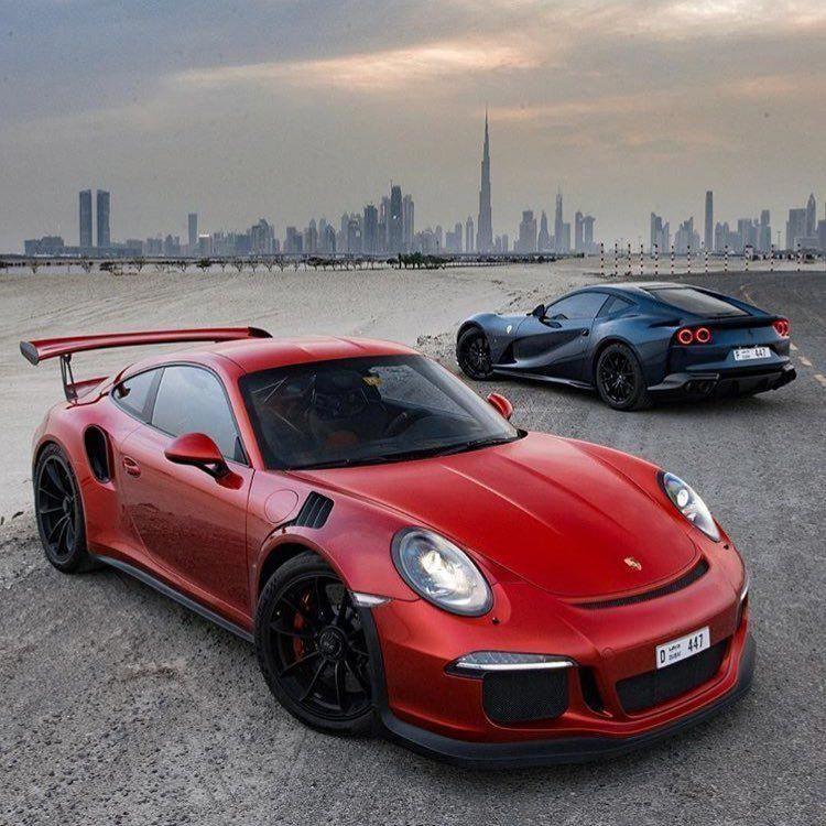 Ferrari Vs Porsche In Porschegt3 Porsche Porsche Gts Porsche Gt3
