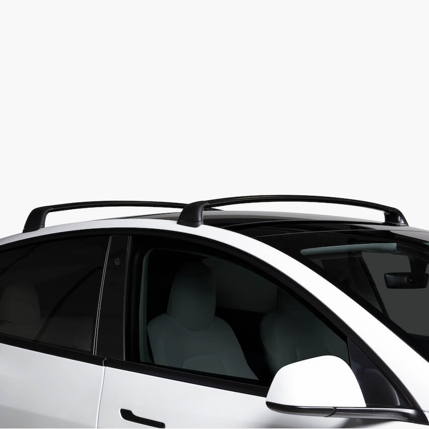 The Model Y Roof Rack was designed and engineered from the