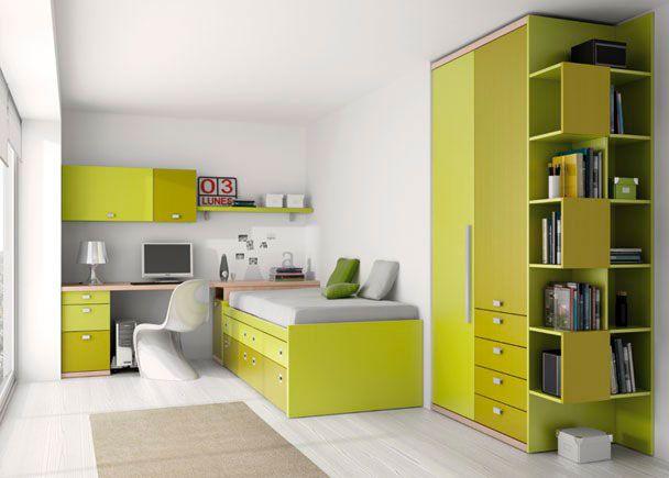Habitaci n infantil 002 022 novedades de mueble juvenil - Fabricar cama abatible ...