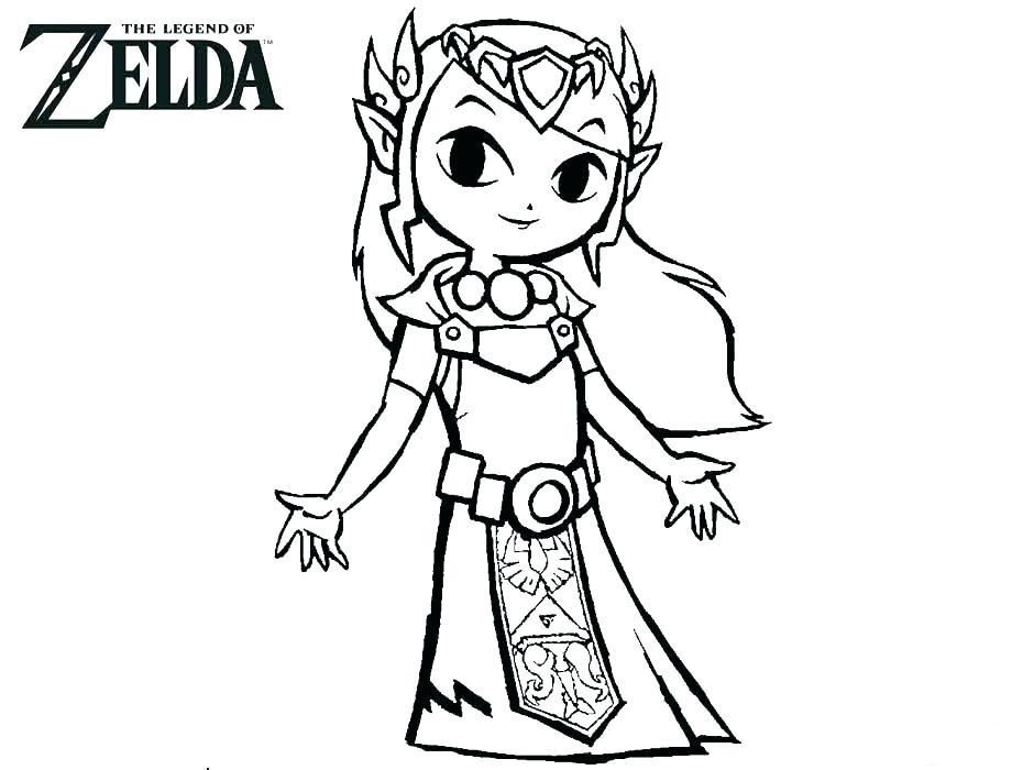 Free Printable Zelda Coloring Pages For Kids Coloring Pages Coloring Pages For Kids Color