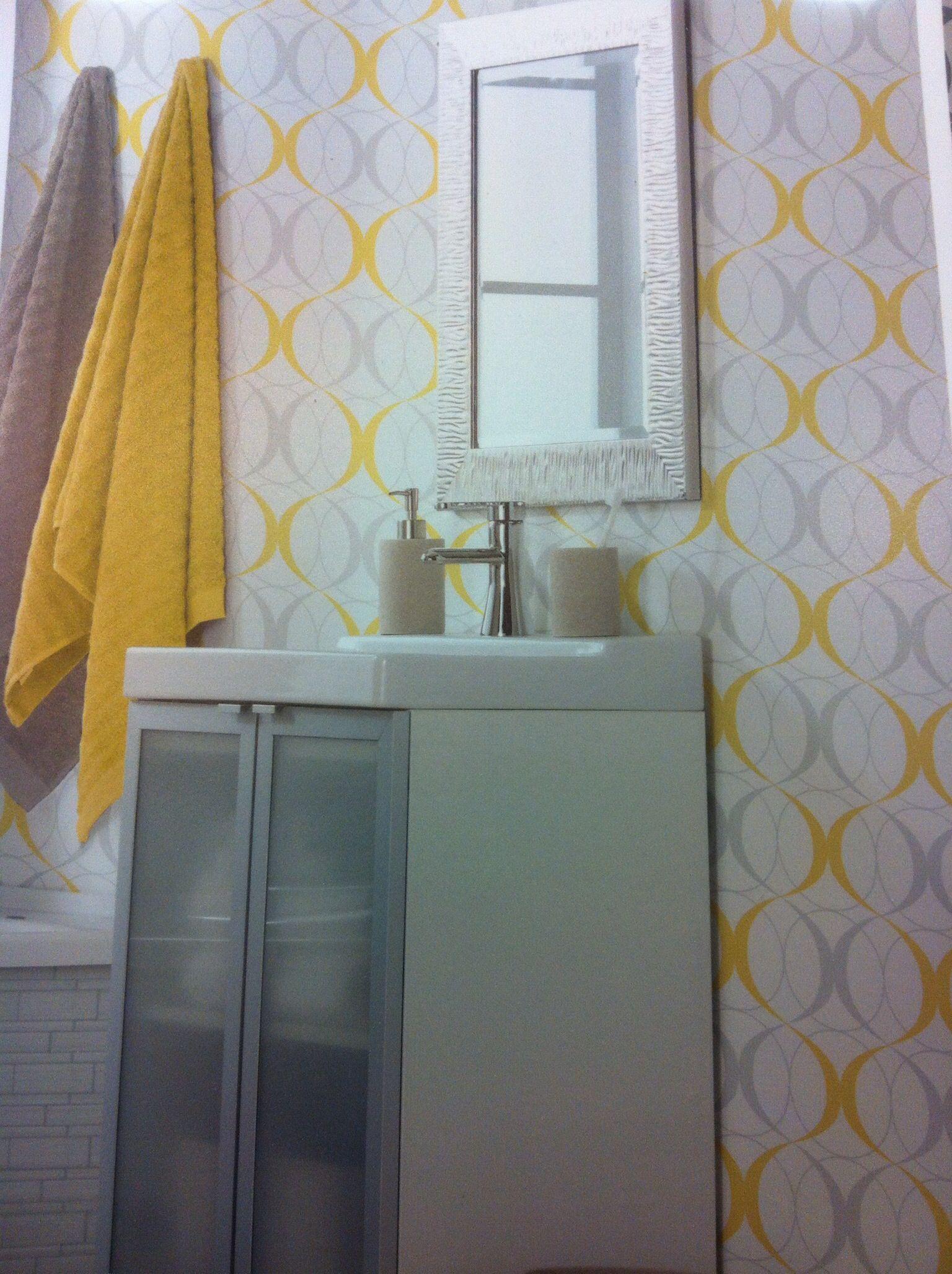 tapisserie salle de bain salle de bain. Black Bedroom Furniture Sets. Home Design Ideas