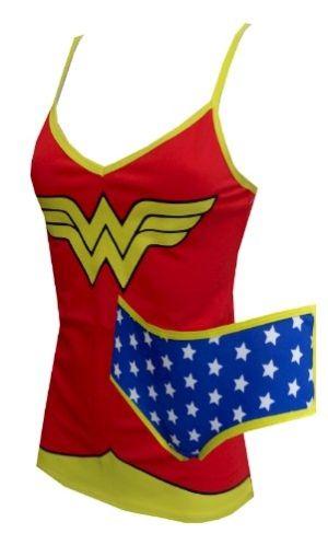 98f7765a8637f Dc Comics Wonder Woman Cami   Panty Set for women by noveltyit ...