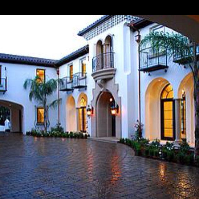 Exterior Pictures Of Mediterranean Style Homes Cities: Modernized 1920s Mediterranean Style Home!