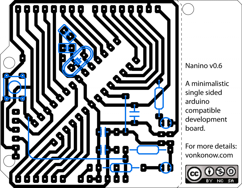 Nanino: The DIY PCB-etching Arduino — Arduino Passion - #electronics ...