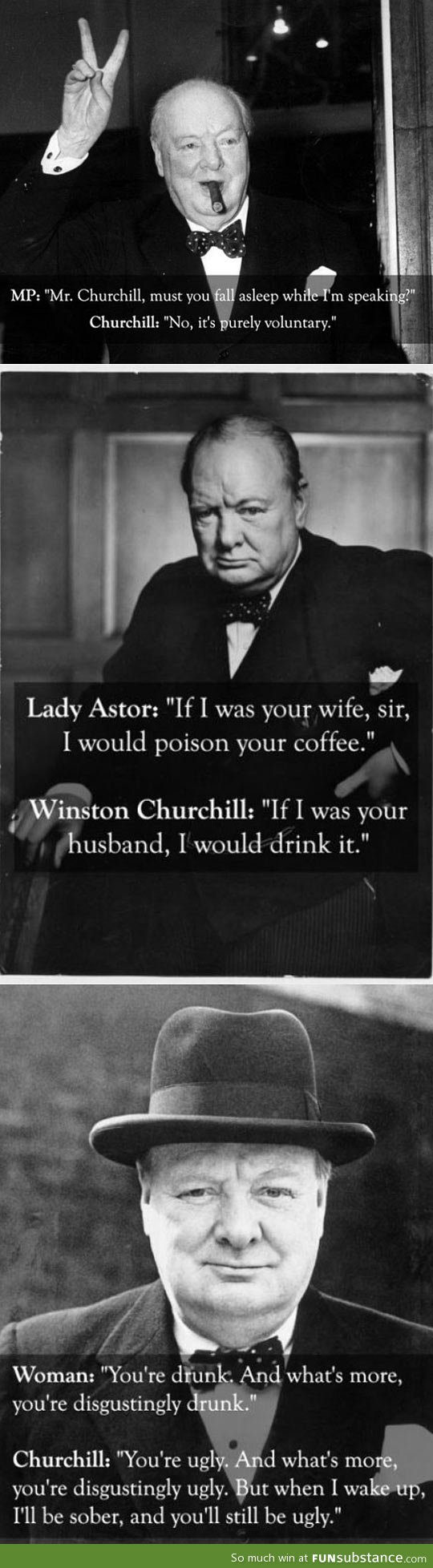 Churchill was a boss
