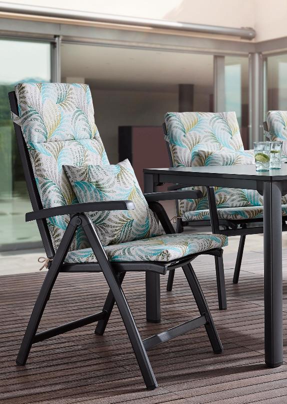 Sesselauflage Gemustert Fur Hochlehner Bestellen Sessel Outdoor Mobel Gartenmobel