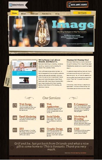 Blackstone Media Group Bmg Is A Custom Web Design Company In Fort Lauderdale Flo Web Development Design Custom Web Design Search Engine Optimization Services