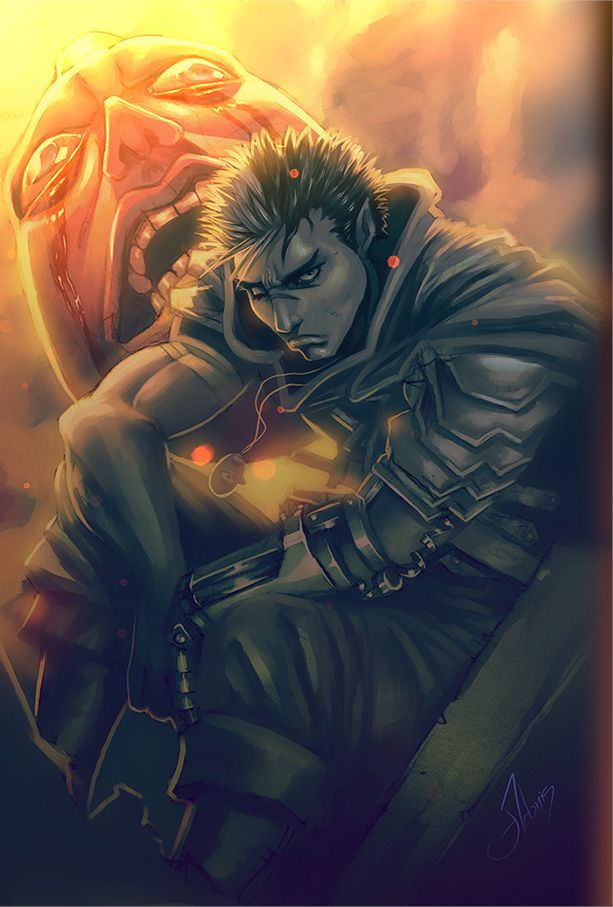 - BERSERK - Guts   Berserk, Manga, Anime