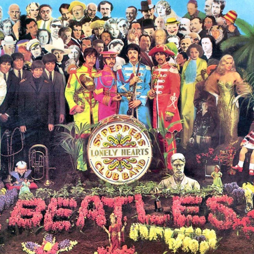 On The Beatles Sgt Pepper A Minyan Of Notable Jews Lonely Heart Sgt Peppers Lonely Hearts Club Band Sgt Pepper Album Cover