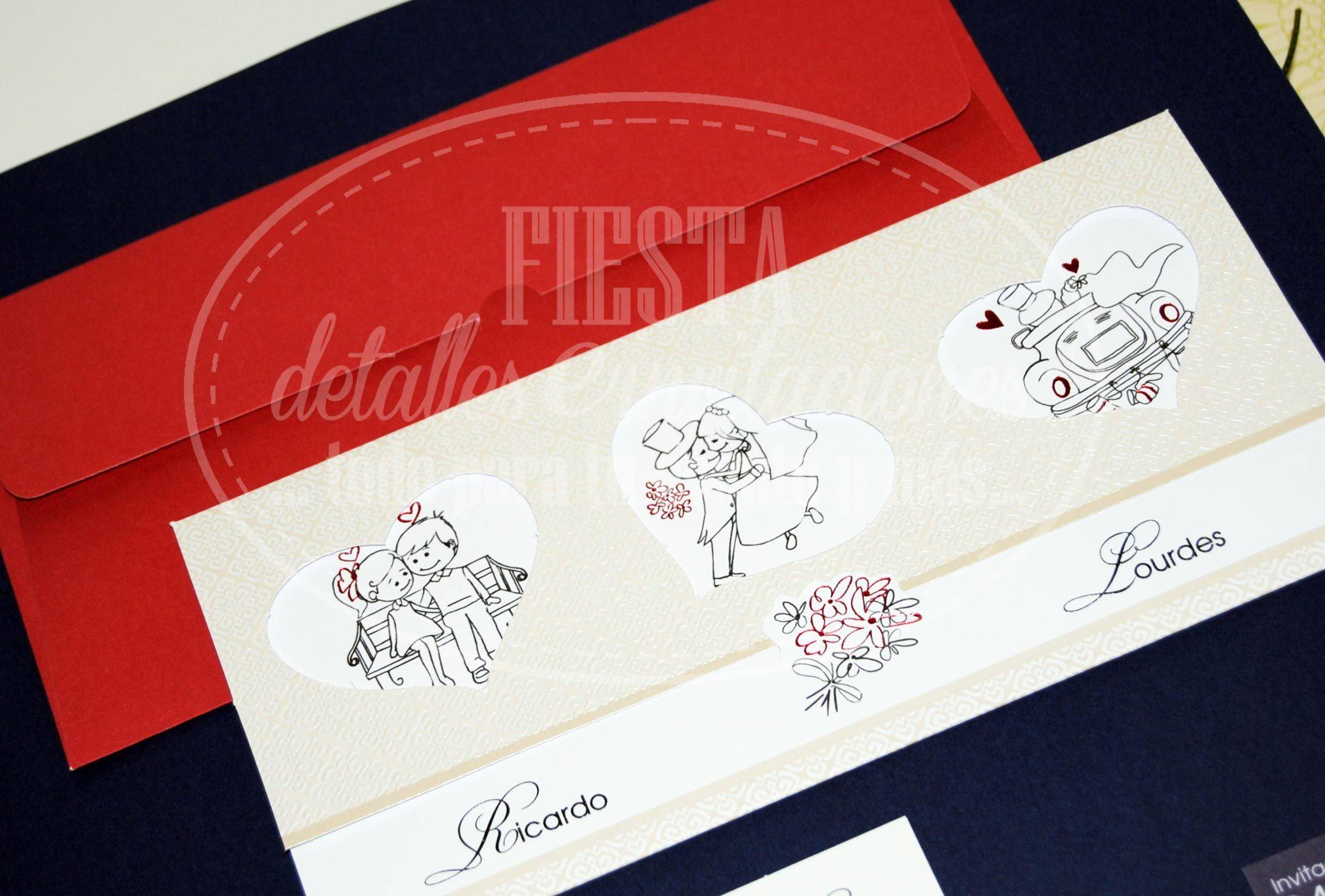 Colección invitaciones boda #lowcost @Lydia Cuffman Detalles e ...