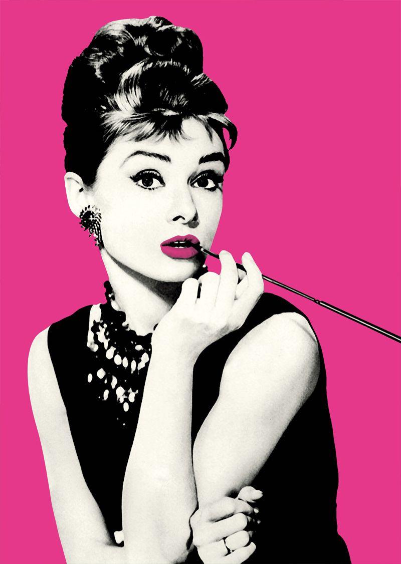 Audrey hepburn icons arte arte retro y artistas - Audrey hepburn cuadros ...