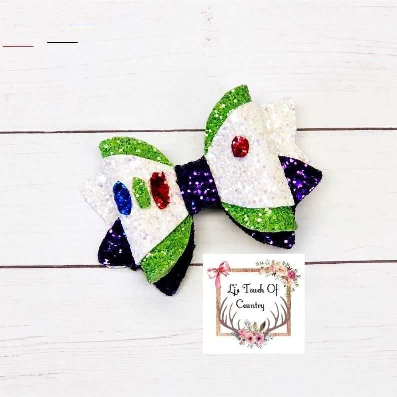 Lightyear Inspired Bow Buzz Inspired Bow Toy Story Inspired Bow