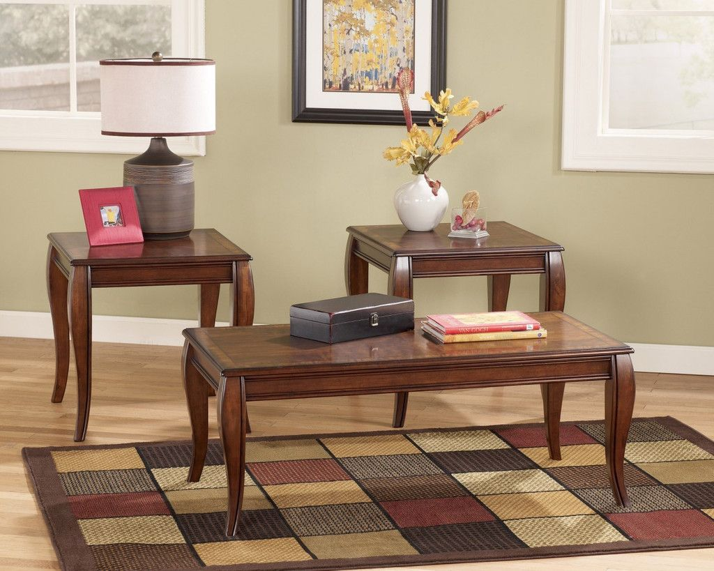 Ashley Furniture T Mattie Coffee Table Set Coffee Table Sets - Ashley signature coffee table set