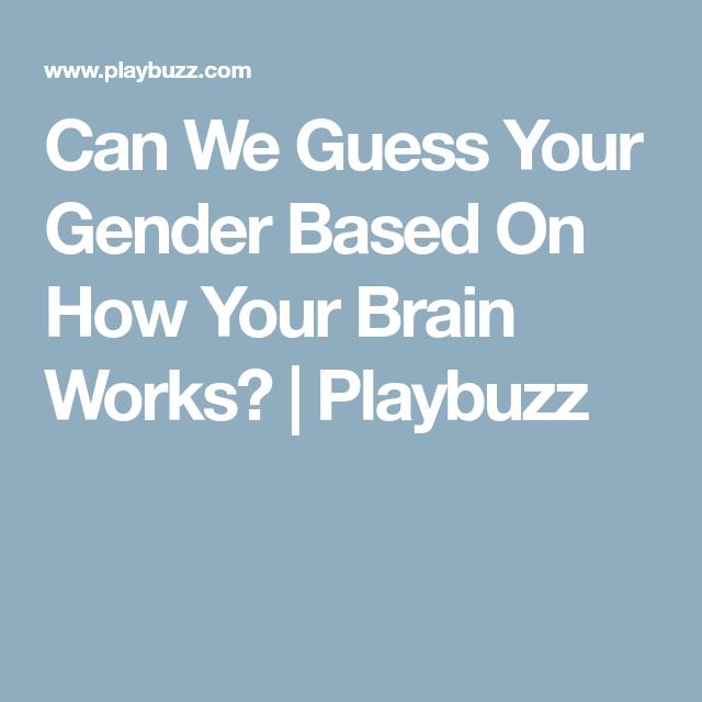 what gender do i like quiz