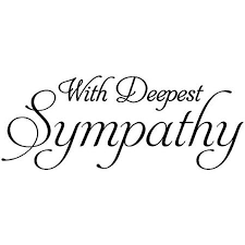 image result for with deepest sympathy thinking of you sentiments deepest sympathy card. Black Bedroom Furniture Sets. Home Design Ideas