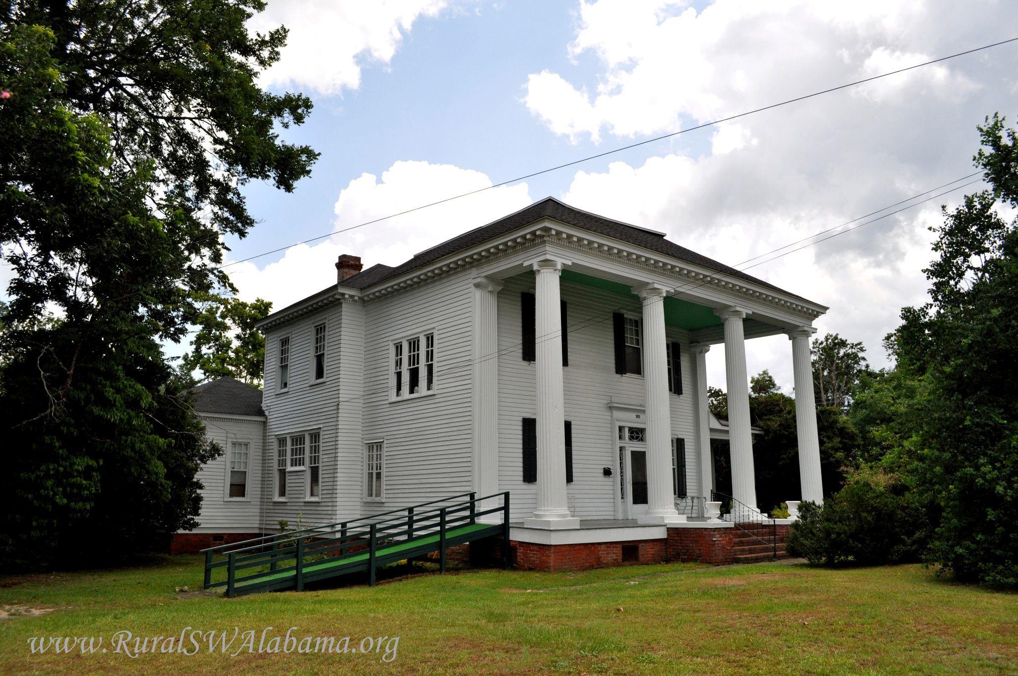 The Taliaferro House Evergreen Alabama