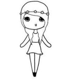 Chibi Templates Dibujos Kawaii Dibujos Dibujos Bonitos