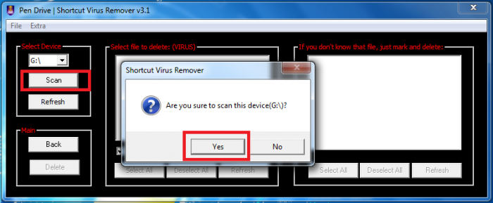 shortcut virus remover v3.1