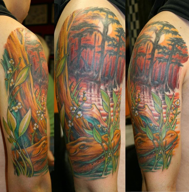 Swamp Scene Tattoo - Yahoo Image Search Results