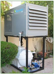The Skywater 300 Uses Patented Air To Water Technology To Produce Up To 300 Atmospheric Water Generator Home Maintenance Emergency Water
