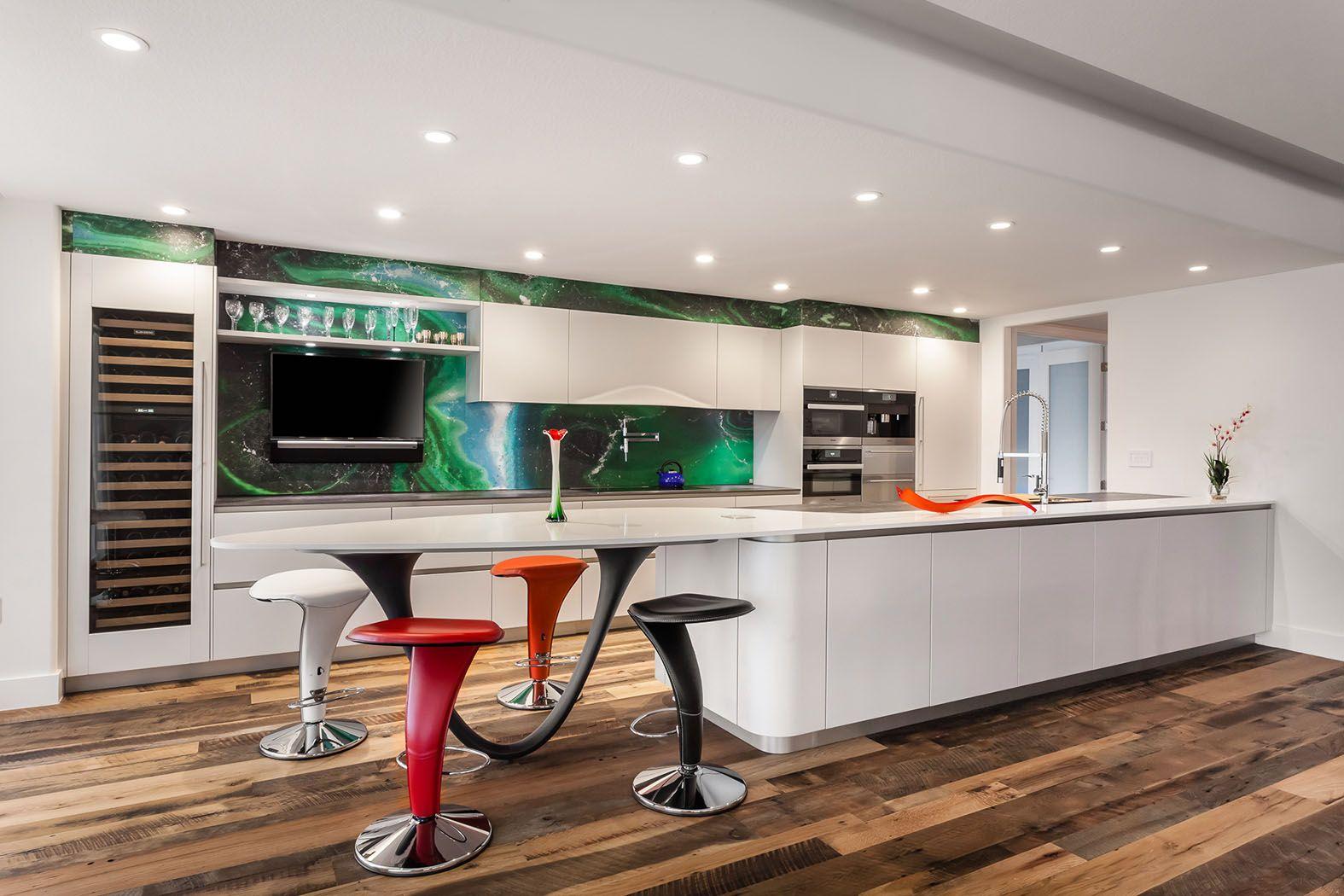 An Ultra Modern Kitchen Collaboration Between 2 Italian Design Giants Snaidero And Alex Turco