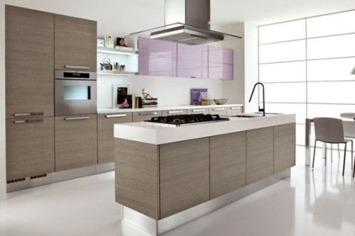 Diseños de Cocinas Integrales Modernas Cocina Pinterest - cocinas integrales modernas