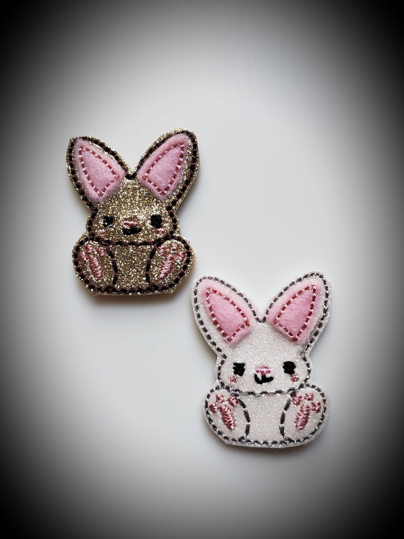 Bunny Feltie-Set of 3