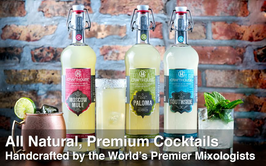 Sip on Charles Joly's delicious, all natural premium Crafthouse cocktails!
