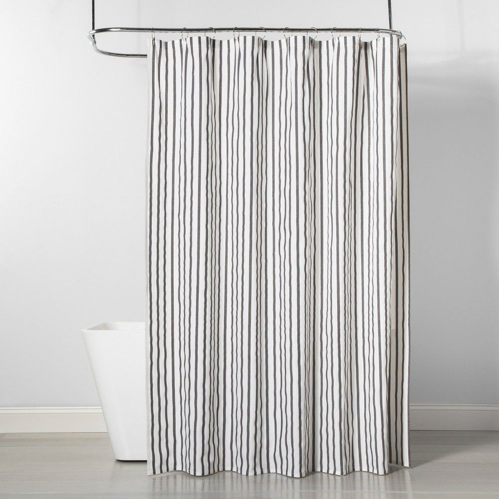 Stripe Shower Curtain Black White Project 62 Black White Shower Curtain Striped Shower Curtains Target Shower Curtains