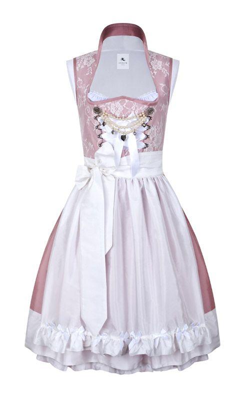 Anina W Hochzeitskleid, Hochzeitsdirndl, Dirndl made from lace and silk