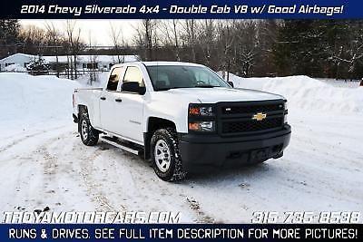eBay: 2014 Chevrolet Silverado 1500 NO RESERVE 2014 Chevrolet Silverado 4x4 V8 Rebuildable Truck Repairable Damaged… #carparts #carrepair