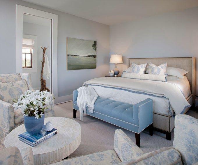 Blue Bedroom Interior Design: Designed By Elizabeth Gullett Of SummerHouse