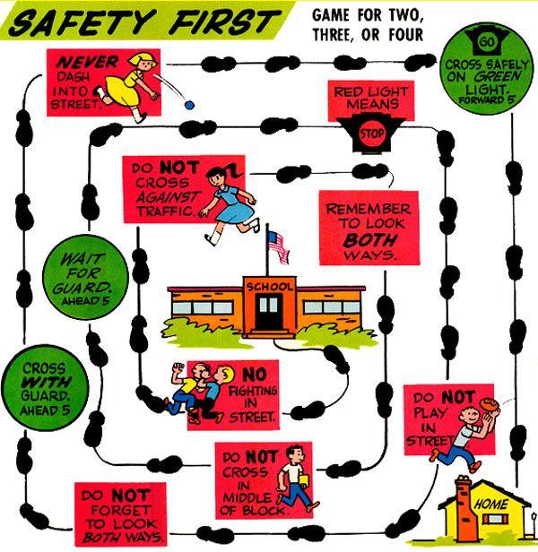Safety First Game Purple Kitty http//purplekittyyarns