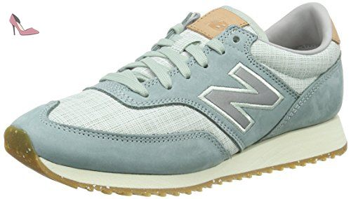 GM500, Baskets Homme, Blanc (White/Red), 45.5 EUNew Balance