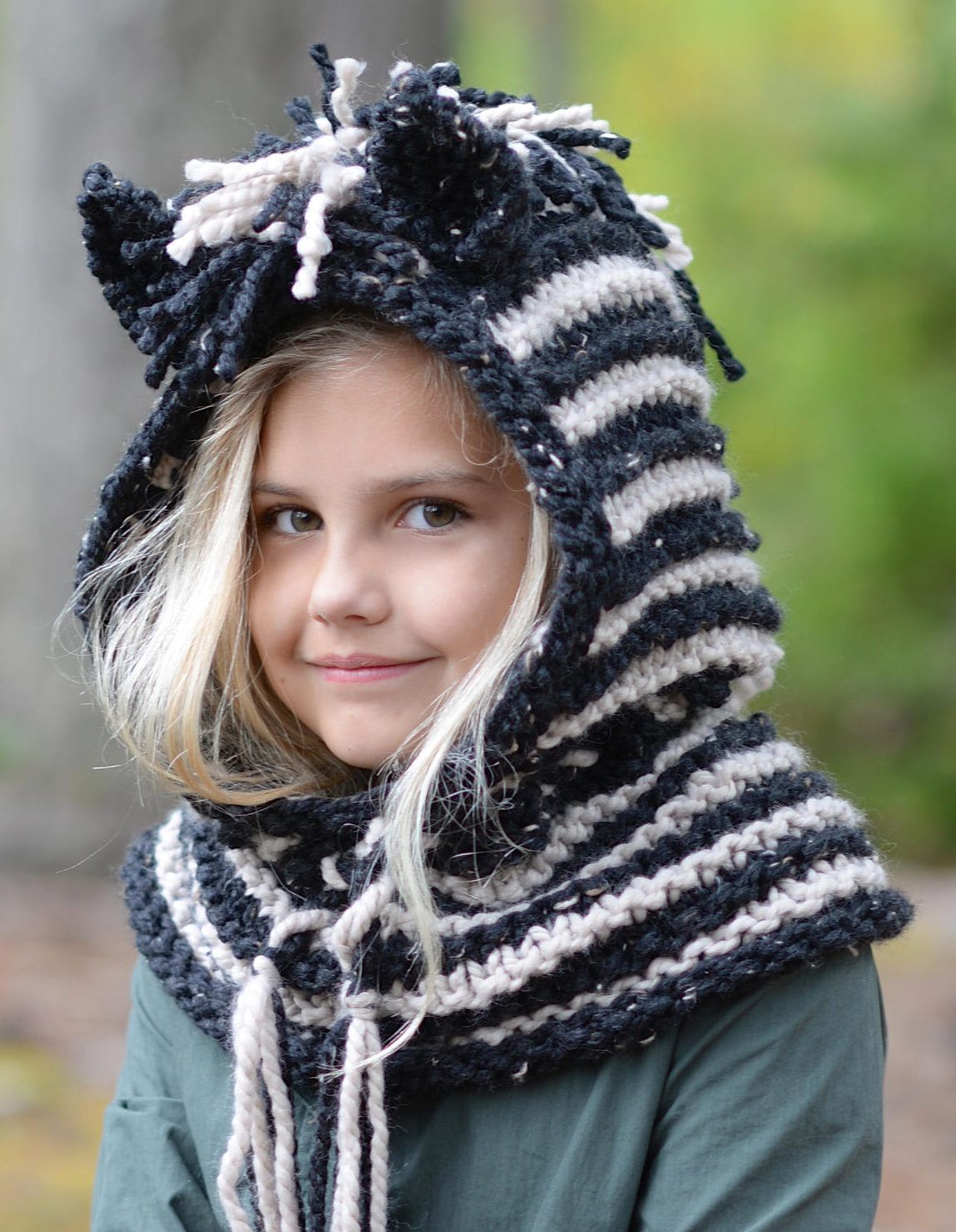 One Stitch Hat (Knit) (With images) Knitted hats, Easy