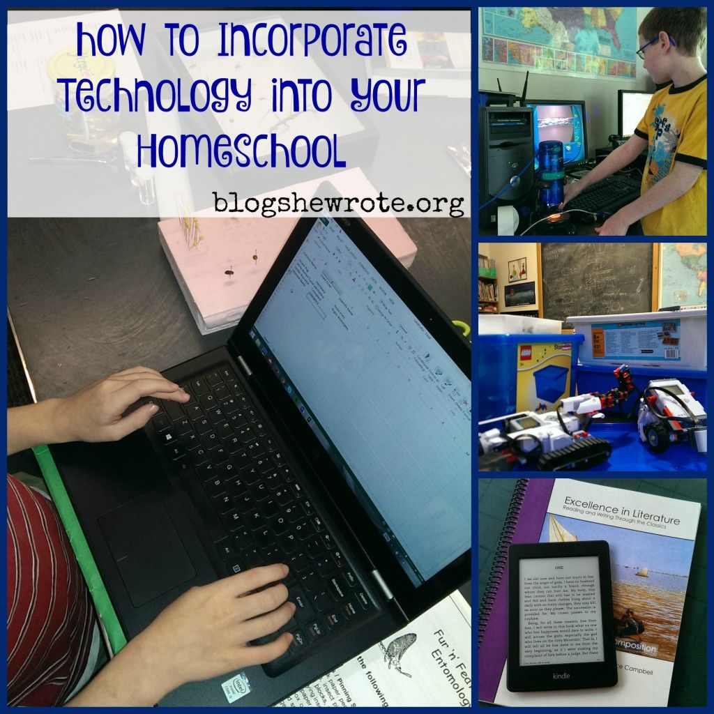 How To Incorporate Technology Into Your Homeschool