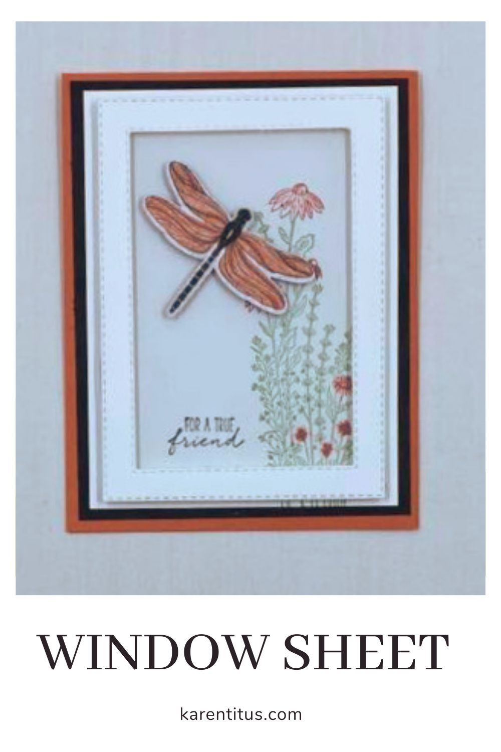 Using Window Sheets in Your Card Making