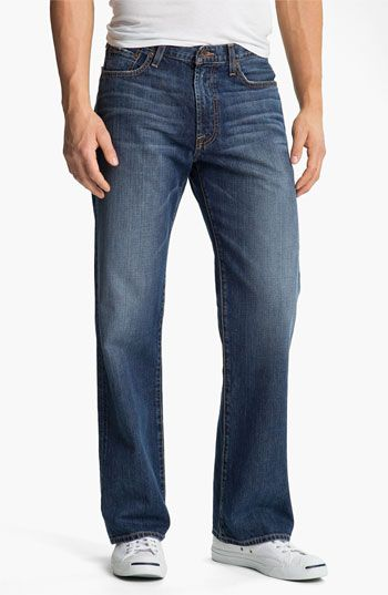 Lucky Brand '181' Relaxed Straight Leg Jeans (Medium Clarksville) available at #Nordstrom
