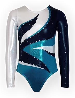 k-Bee Leotards Girls Team USA Red Gymnastics Leotard