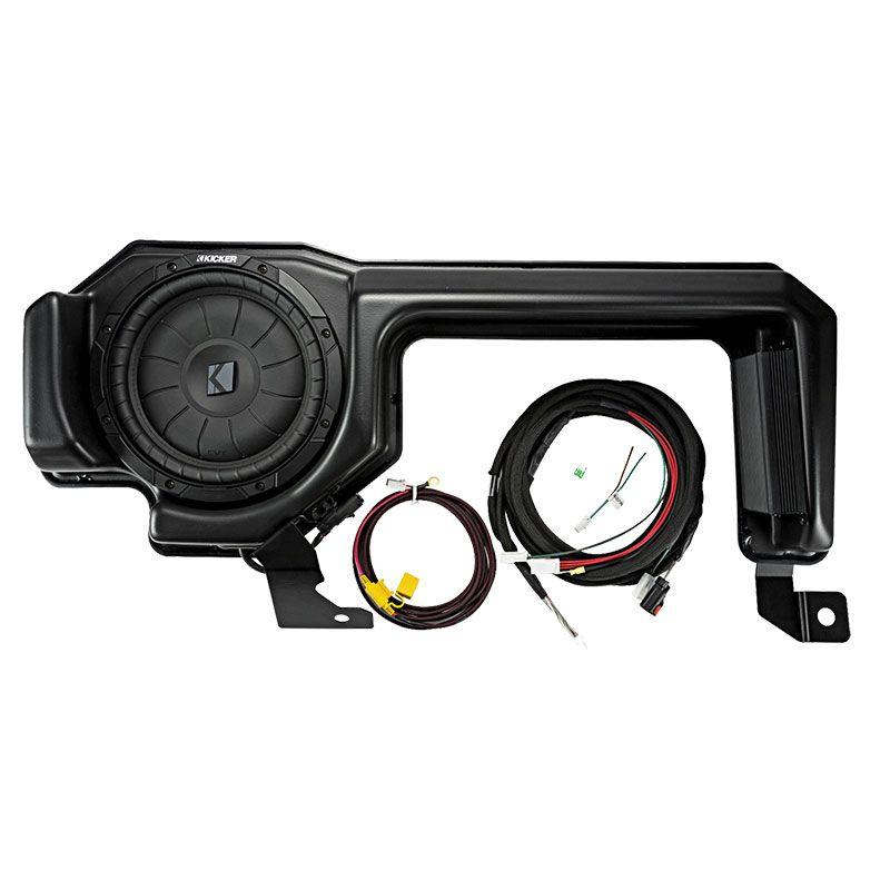 2020 Silverado 2500 Audio Upgrade Kicker Powered Subwoofer Kit