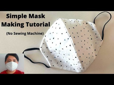Photo of HOW TO MAKE A FACE MASK WITHOUT SEWING MACHINE | DIY Cloth Mask Sewing Tutorial