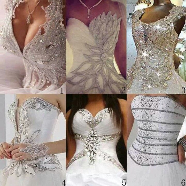 Pick your fantasy gown