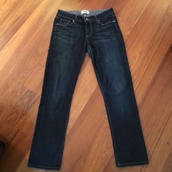 """Paige denim Paige denim. Stretchy fit. I am 5'4"""" for fit. Paige Jeans Jeans Straight Leg"""