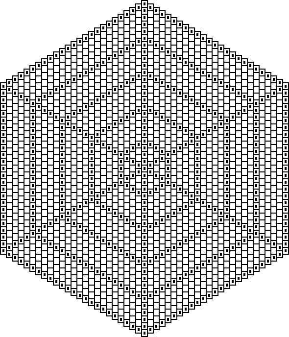 blank radially symmetrical graph paper More triangle Pinterest - triangular graph paper