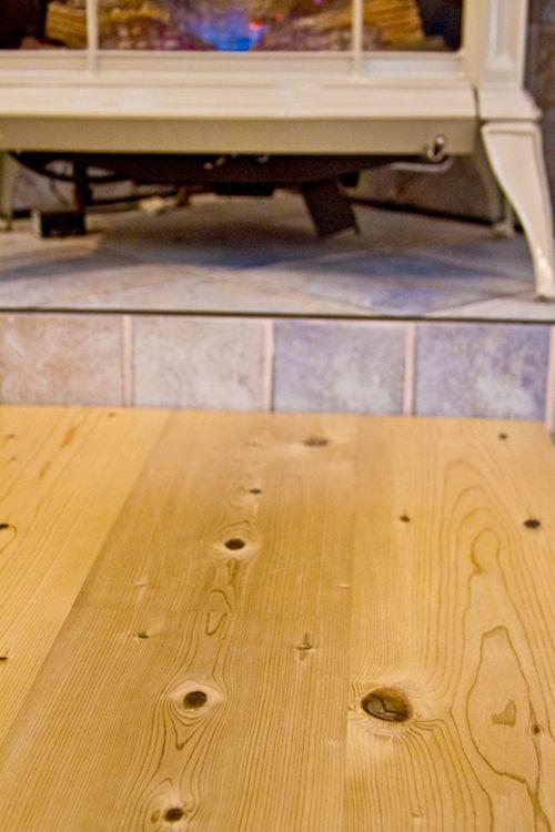 This Week In Wood Maine Firm Makes A Splash With Underwater Log Flooring Flooring Pine Floors Wide Plank Flooring